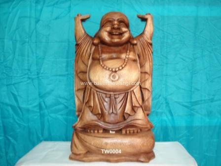 Traveling Buddha hand up<br>TW0004