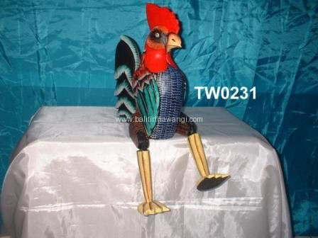 Sitting Rooster color<br>TW0231