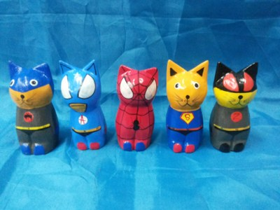 Cat superhero set 5<br>TW0400