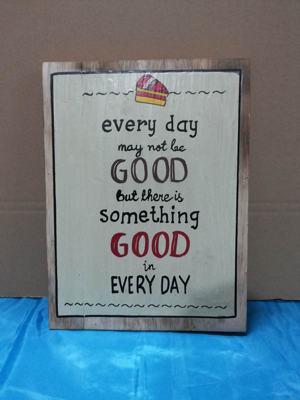 Everyday may not be good<br>WS002