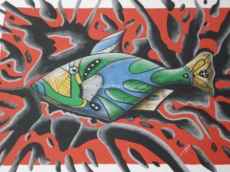 Abstract Fish<br>MR017