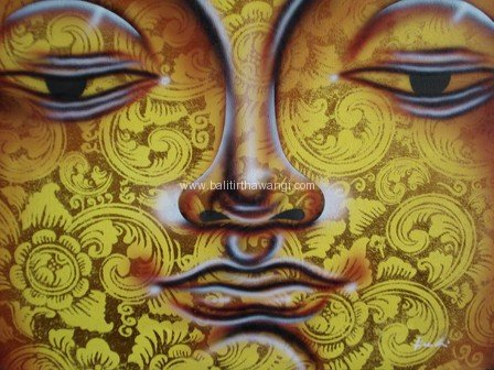 Budha Head Gold<br>MR069